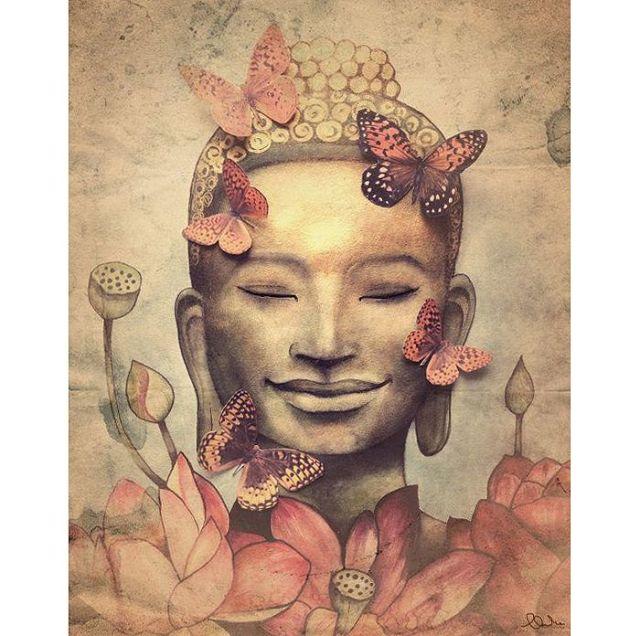 butterfly-buddha