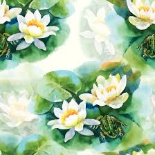 lotus frog